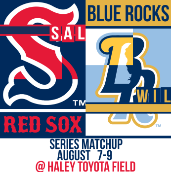 Sox and Blue Rocks Aug 7-9