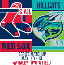 Sox and Hillcats May 10-13